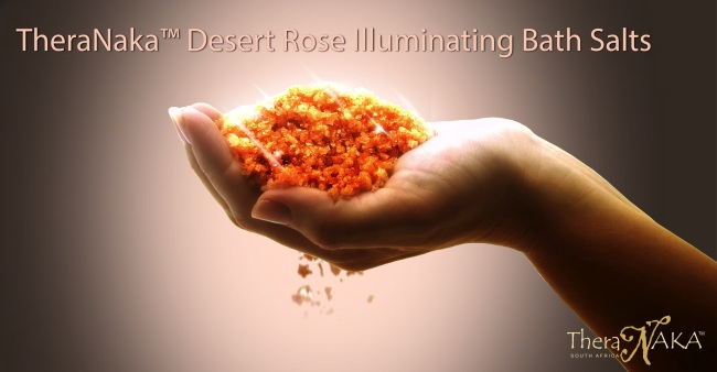 THERANAKA - Desert Rose Illuminating Bath Salts (2)